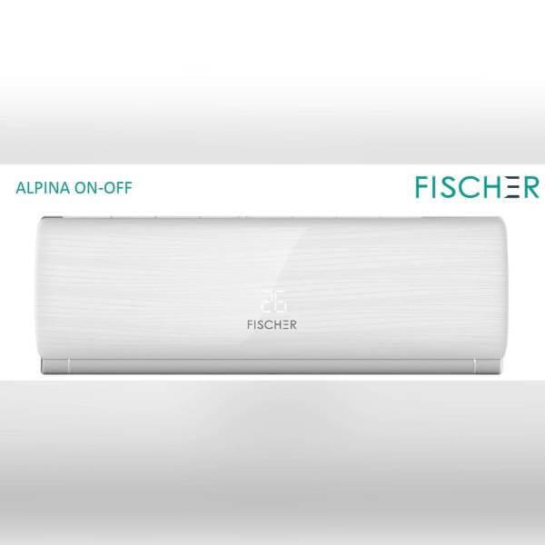 Кондиціонер Fischer ALPINA FI/FO-09AON, внутрішній блок. Climatzone.com.ua, Мукачево, Закарпаття.