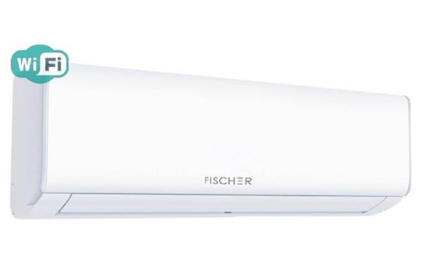 Кондиціонер Fischer STARK FIFO-09SIN, внутрішній блок зліва. Climatzone.com.ua, Мукачево, Закарпаття.