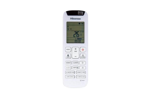 Кондиціонер Hisense Silentium Pro QD25XU0A, пульт дистанційного керування. Climatzone.com.ua, Мукачево, Закарпаття.