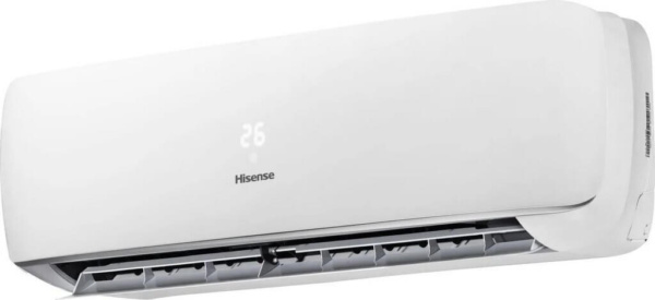 Кондиціонер Hisense Apple Pie AST-09UW4SVETG10, внутрішній блок зліва відкритий. Climatzone.com.ua, Мукачево, Закарпаття.